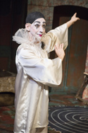 Birdie-Bob Watt as Pierrot. Photo by David Wilson